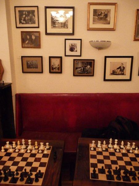 Marshall Chess Club gediegen